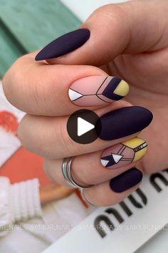 nail art designs for spring ~ nail art designs ; nail art designs for winter ; nail art designs for spring ; nail art designs with glitter ; nail art designs with rhinestones Nail Art Vidéo, Neon Nail Art, Pedicure Nail Art, Neon Nails, Nail Art Tribal, Nail Nail, Spring Nail Art, Spring Nails, Summer Nails