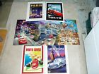 CARS 2 LITHOGRAPH SET OF 4 DISNEY STORE EXCLUSIVE