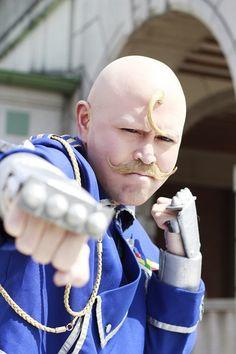 Major Armstrong - Full Metal Alchemist