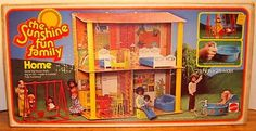 sunshine family mattel |This is the second home Mattel put out for the Sunshine Family