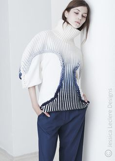 jessica leclere, knitted garment, ltvs, lancia trendvisions
