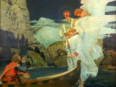 The Knight of the Holy Grail | Smithsonian American Art Museum
