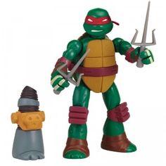 Make your own Turtles mutation with the Teenage Mutant Ninja Turtles Mutations Mix & Match figures.