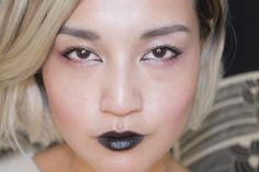 Black Lipstick: 3 Ways To Wear The Darkness With A Little Light - xoVain