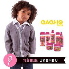 Um look infantil para um cabelo cacheado perfeito.  #ukembu #cachokids #tuésbeleza