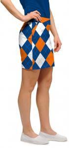Colorful women's golf skirt