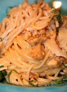 Microwave Chicken Parmesan and Chicken Brеаѕt Pasta Recipes, Crockpot Recipes, Chicken Recipes, Dinner Recipes, Chicken Carbonara, Pasta Carbonara, Swedish Recipes, Recipes From Heaven, Recipe For Mom