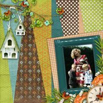 Summer Moments Like This 12x12 Layout Templates from The Cherry On Top