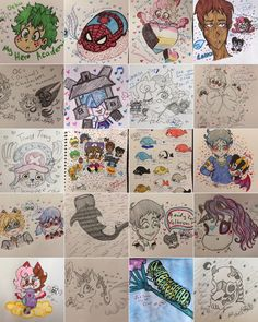 Art blog for Alana / Miss Kitty - misskittyalanaart:   Super busy drawing year for...
