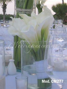 mexican calla lilies #wedding #centerpiece