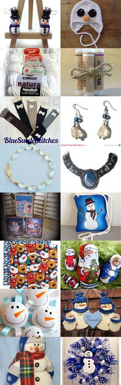 Do you want to build a snowman! by Jennifer Burrell on Etsy--Pinned with TreasuryPin.com #novemberfinds