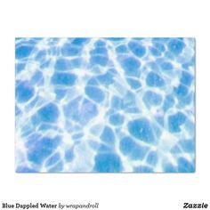 Blue Dappled Water T