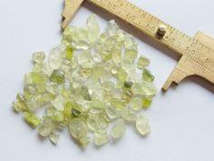 70Ct. Lot Natural Facet Rough Clean Light-Dark Green Chrysoberyl Gemstone #TB133  | eBay