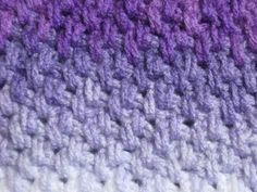 Meladoras Creations | Thick Mesh Stitch – Crochet Stitch Pattern