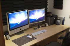Home Office Setup (2007) by garrettmurray, via Flickr
