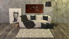 dekoracja ścienna ze stali corten do kupienia na raggio.eu corten steel metal art wall decor