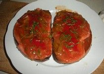 Topinky po cikánsku Meatloaf, Healthy Recipes, Cooking, Food, Health Recipes, Cuisine, Meat Loaf, Kitchen, Meal