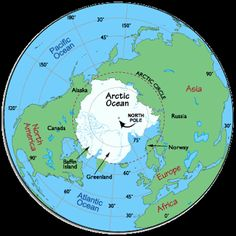 Pangaea the theory of pangea is that millions of years ago all the arctic map arctic circle arctic ocean map map of the arctic freerunsca Image collections