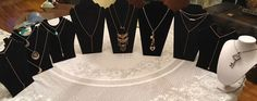 NWOT 13  Pc Jewelry Necklace  LongTrendy Dainty Long Necklaces  | eBay
