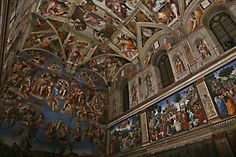 La Cappella Sistina illuminata da settemila led: così risplende il capolavoro del Vaticano - 1 di 1 - Roma - Repubblica.it
