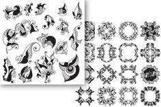 Ornaments collection by Ola Tarakanova's shop on Creative Market