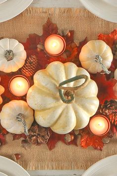 Fall and Thanksgiving - Holiday Crafts Thanksgiving Crafts, Thanksgiving Decorations, Fall Crafts, Holiday Crafts, Halloween Decorations, Thanksgiving Table, Fall Decorations, Seasonal Decor, Fall Halloween