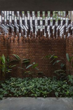 Image 5 of 26 from gallery of Brick House / Architecture Paradigm. Photograph by Anand Jaju (house architecture nature) Brick Architecture, Architecture Details, Landscape Architecture, Interior Architecture, Landscape Design, Cultural Architecture, Boston Architecture, India Architecture, Interior Design