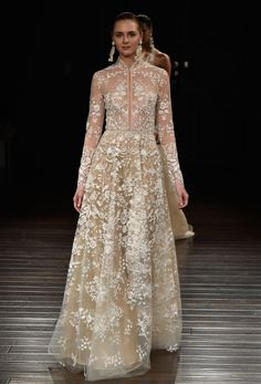 Naeem Khan Bridal Spring 2017 Pakistani couture | #BridalFashionWeek #WeddingDress [Photo: Rodin Banica]