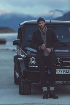 Great style with attidue. Photo by Gijs Spierings (www.gijsspierings.com) for #MBsocialcar [Mercedes-AMG G 63 | Fuel consumption combined: 13.8 l/100km | combined CO₂ emissions: 322 g/km | http://mb4.me/efficiency_statement]