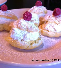 Cooking The Amazing: CREAM PUFFS