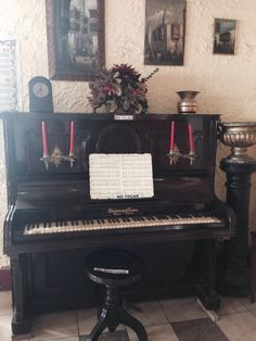 Antiguo piano