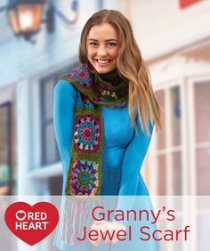 Granny's Jewel Scarf