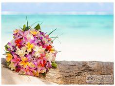 Rarotonga Wedding, Frangipani, Beach, Island