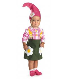 cheaper than toys r us Baby Flower Garden Gnome Costume -Baby Girl Costumes -Infant, Baby Costumes -Baby, Toddler Costumes -Halloween Costumes - Party City Garden Gnome Halloween Costume, Elf Costume, Toddler Halloween Costumes, Cute Costumes, Halloween Kostüm, Toddler Girl Costumes, Costume Ideas, Baby Gnome Costume, Munchkin Costume