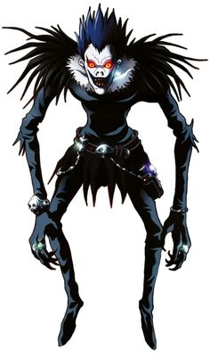 Ryuk, Death Note. A lot more intelligent than he gets credit for. Also, strangely attractive.