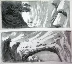 below some concept art from disney's MULAN, created by three masters – ALEX NINO, PAUL FELIX and MARCELO VIGNALI.