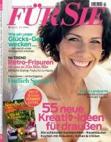 Website for the German women's magazine Für Sie
