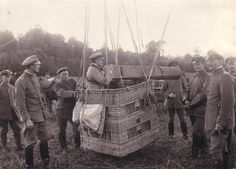 German balloon camera used during World War I.