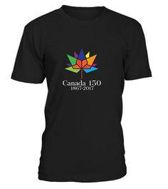 Canada 150 Years Happy Canada Day T-Shirt