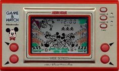 Old School Mickey Mouse Game & Watch by Nintendo. I'm so happy I still have this and it works perfectly!