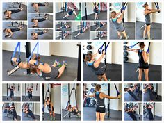 Upper Body Bodyweight Moves – 10 Suspension Trainer Exercises