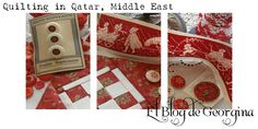 Quilting in Qatar, Middle East Patch Quilt, Quilt Blocks, Nine Patch, Bbg, Diy Fabric Jewellery, Dear Jane Quilt, Felted Wool Crafts, Hand Quilting, Quilting Ideas