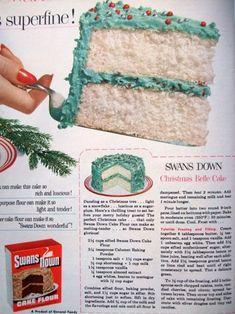 Vintage Christmas cake recipe