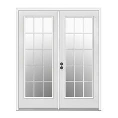 Beau French Door Or Kitchen: ReliaBilt Low E Insulating Steel French Inswing  Patio Door