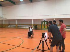 Detrás de las cámaras para el reportaje #Imbatibles. ¡Gracias por la difusión de ayer! ☺️❤️  youtu.be/C-kN3YnJsPE