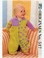 Ravelry: Romper Stomper pattern by Woman's Day Original No. 517