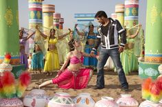 "Movie song ""Nainon Mein Sapna"" still."