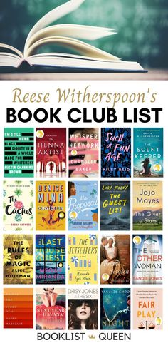 Find out what Reese's book club is reading this month and see every book chosen for Reese Witherspoon's book club list. Book Club Books 2017, Book Club List, Reese Witherspoon Book Club, Avant Garde Artists, Black Henna, I'm Still Here, Mystery Thriller, Historical Fiction, Perfect Man