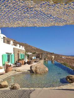 information about mykonos island and villa Drakothea, a villa for rent in mykonos