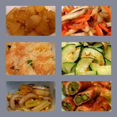 色々お弁当用作り置き。 大根のごま煮、人参とごぼうの金平、和風タラモサラダ、ズッキーニオイル蒸し、セロリと竹輪の金平、アスパラ豚肉巻。